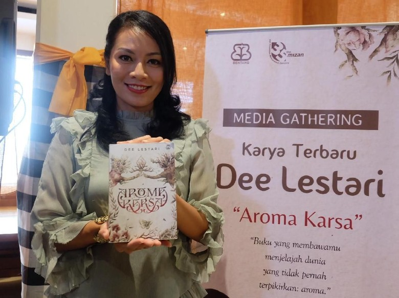Karakter Utama Novel Aroma Karsa Terinspirasi dari Kondisi Hiperosmia