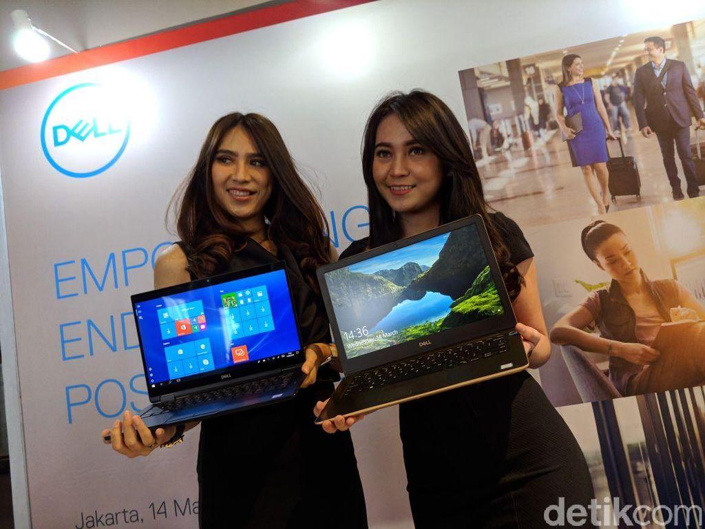Dua seri yang dibawa Dell, yakni Latitude dan Vostro. Foto: Adi Fida Rahman/detikINET
