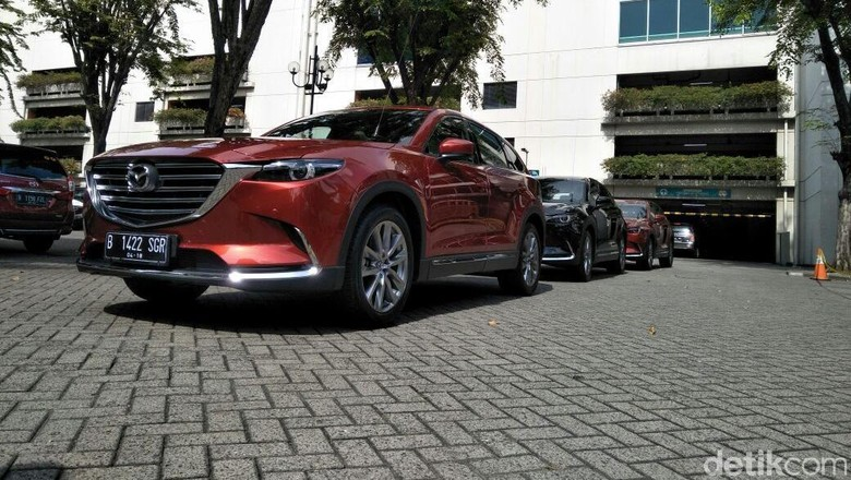Mazda CX-9 Foto: Ruly Kurniawan