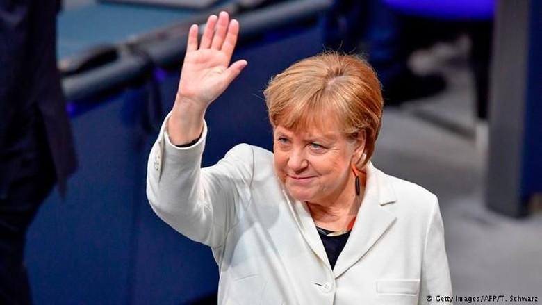 Angela Merkel Resmi Terpilih Sebagai Kanselir Jerman