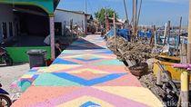 Kampung Nelayan Kumuh di Jakarta Utara Kini Cantik Warna-warni