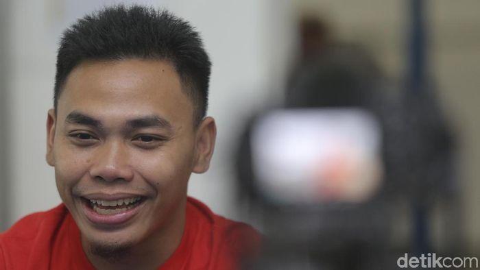 Eko Yuli Irawan, lifter andalan Indonesia di ajang internasional (Agung Pambudhy/detikSport)