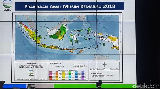 Kemarau di Indonesia Terjadi April Nanti