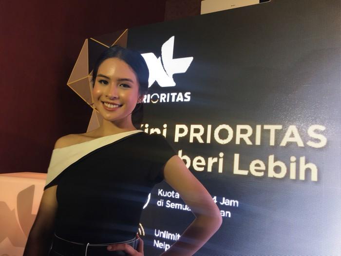 Maudy Ayunda. Foto: Agus Tri Haryanto/inet