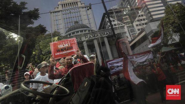 NasDem dan PSI Anggap UU MD 3 Bakal Rapuh Bagai Kerupuk