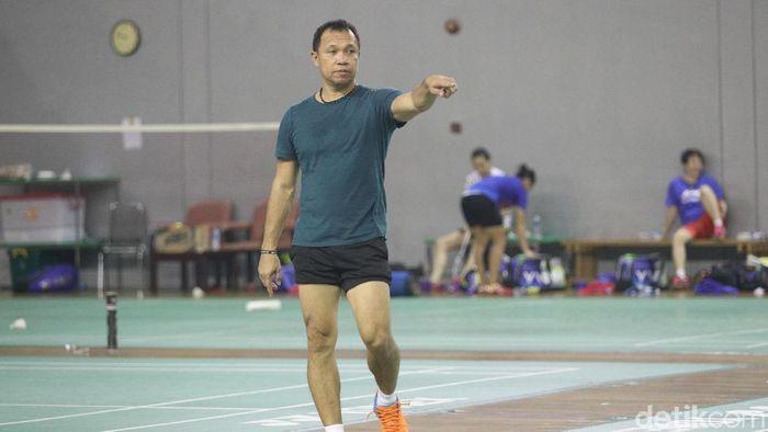 Richard Mainaky, pelatih ganda campuran pelatnas PBSI. (Grandyos Zafna/detikSport)
