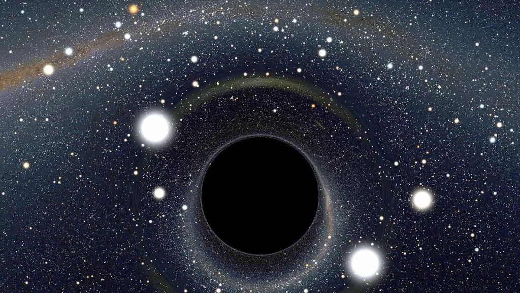 Teka-teki Obyek Raksasa di Pusat Galaksi Bima Sakti