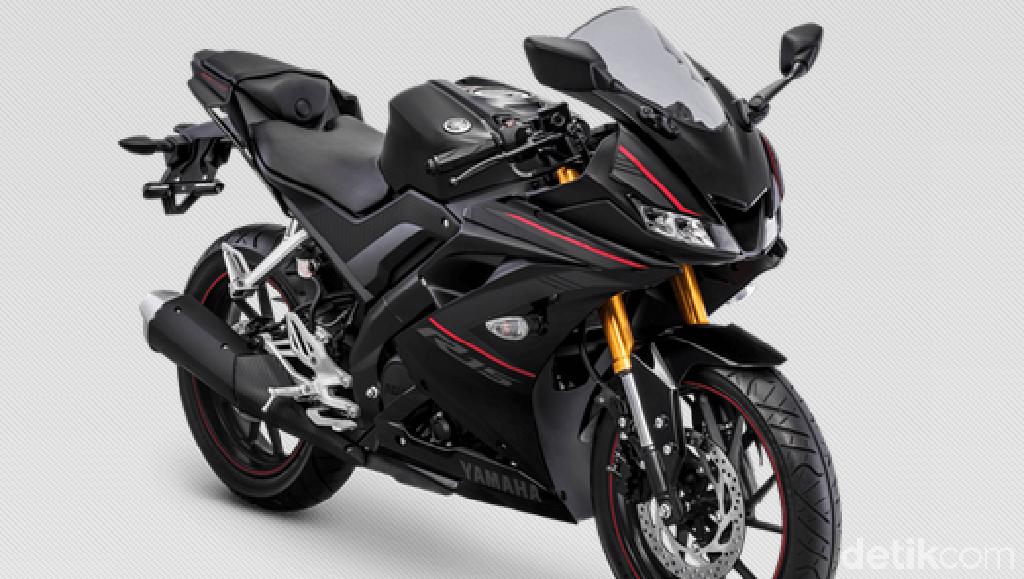 Warna Baru Yamaha R15 dengan Suspensi Upside Down Emas