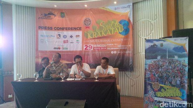 Konferensi pers Sail to Krakatau 2018 (Muhammad Iqbal/detikTravel)