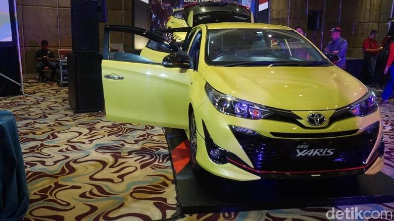 Toyota Yaris di Bandung (Foto: Dony Indra Ramadhan)