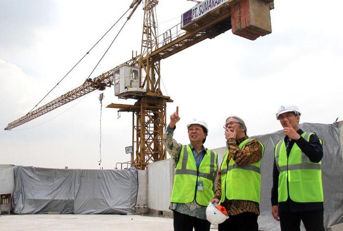 Totalnya, nanti akan ada delapan gedung yang dibangun di kompleks data center seluas 3,6 hektar yang berlokasi di kawasan industri MM2100 Cibitung, Bekasi. Foto: dok. DCI