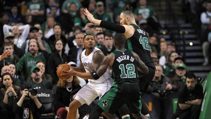 Boston Celtics vs Washington Wizards (Foto: Bob DeChiara-USA TODAY Sports)