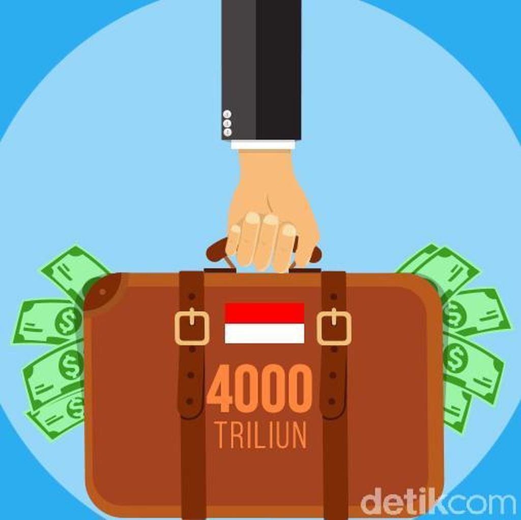 Dalam 4 Tahun, Jokowi Bayar Cicilan Utang hingga Rp 1.600 T