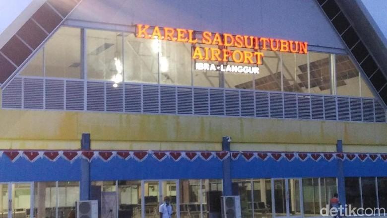 Bandara Karel Sadsuitubun di Langgur, Maluku Tenggara (Wahyu/detikTravel)