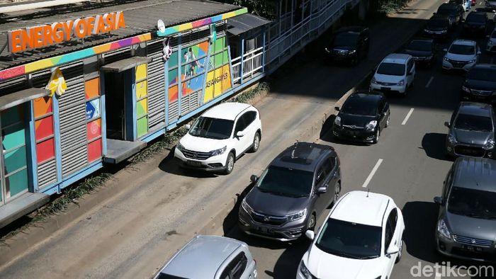 Jalan Sudirman-Jakarta/Foto: Agung Pambudhy