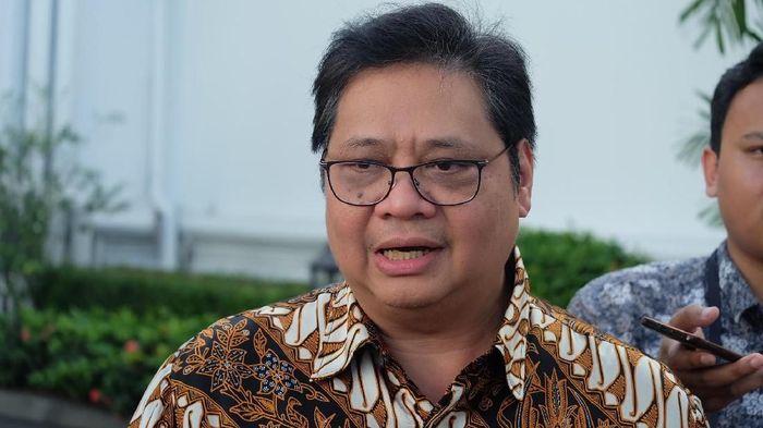 Foto: Airlangga Hartarto. (Andhika Prasetia/detikcom).