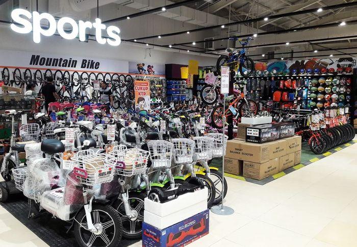 Foto: Sepeda listrik (Dok. Transmart Carrefour)