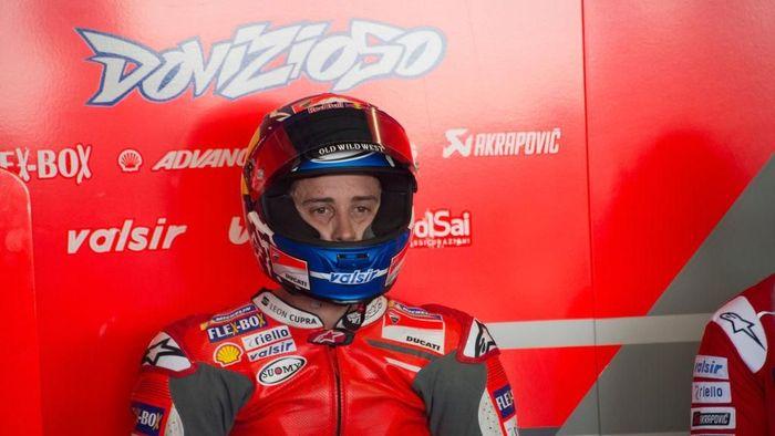 Andrea Dovizioso menekankan pentingnya manajeman ban di MotoGP Qatar. (Foto: Mirco Lazzari gp/Getty Images)