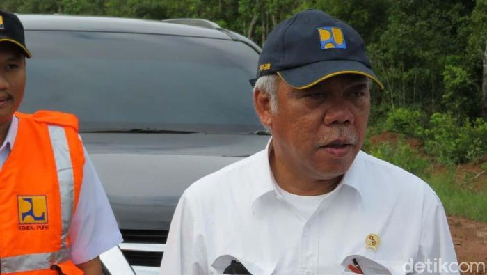 Menteri PUPR Basuki Hadimuljono/Foto: Danang Sugianto