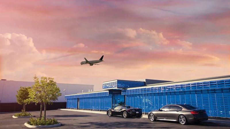Inilah The Private Suite di LAX, AS. Adalah terminal penumpang reservasi khusus dan terpisah untuk semua penerbangan komersial (The Private Suite/CNN Travel)