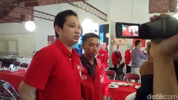 Haryanto Arbi (Akrom Hazami/detikSport)