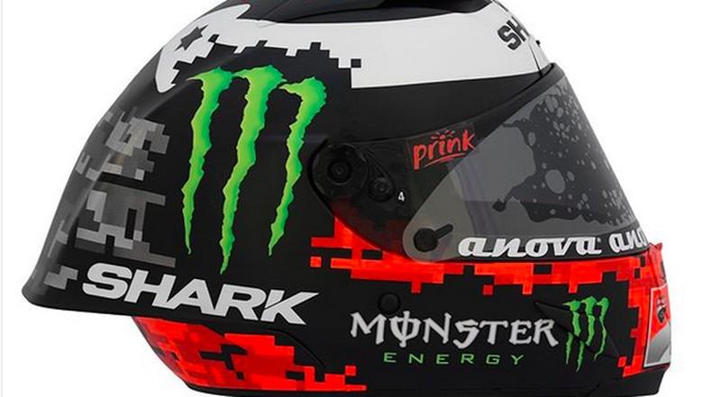 Helm yang dipamerkan Lorenzo di akun sosmednya. Foto: Instagram/Jorge Lorenzo