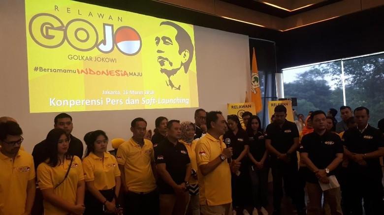 Golkar Buat Gerakan Gojo Menangkan Jokowi, Apa itu?
