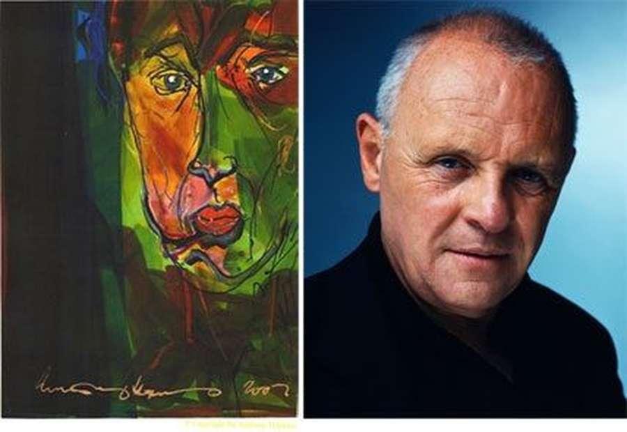 Deretan Lukisan Karya Selebriti Dunia