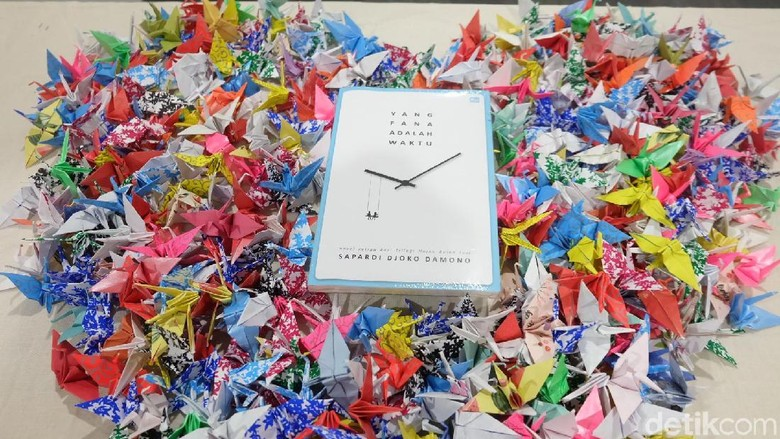 Sapardi Djoko Damono Isyaratkan Ada Kelanjutan Novel Hujan Bulan Juni Foto: Tia Agnes/ detikHOT