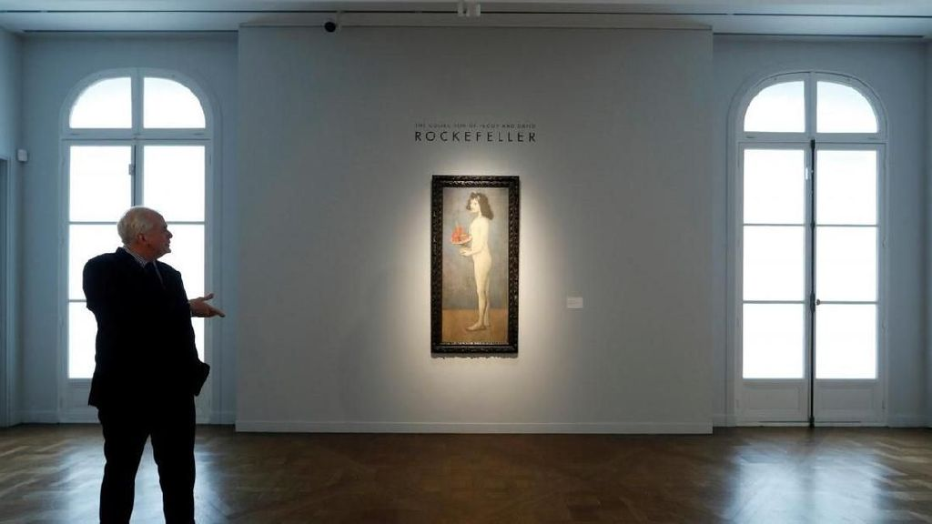 Lukisan Picasso Koleksi Pebisnis AS Rockefeller Dijual di New York