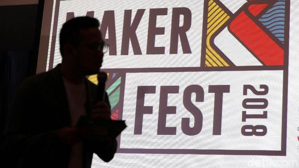 Maker Fest 2018 Dorong Kreator Lokal Indonesia