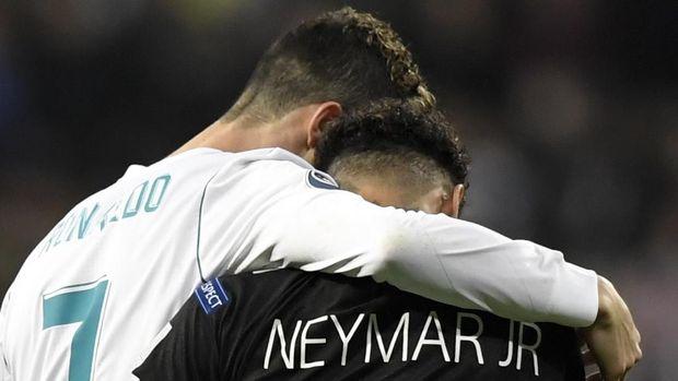 Neymar dan Ronaldo saling respek satu sama lain.