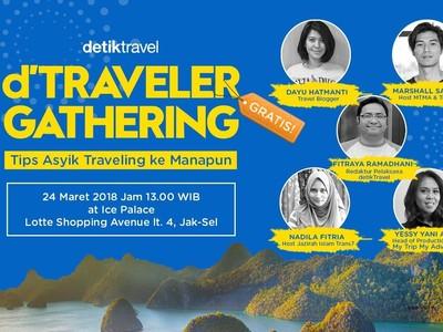 Ayo Ngobrolin Tips Jalan-jalan Bareng Para Host Traveling!