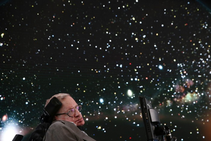 Stephen Hawking wafat di usia 76 tahun. Foto: Getty Images