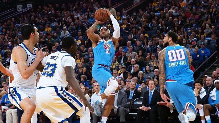Golden State Warriors kalah dari Sacramento Kings (Foto: Kelley L Cox-USA TODAY Sports)