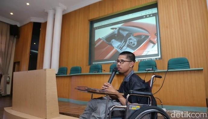 Keren, Mobil Listrik Atap Terbuka Hasil Desain Mahasiswa UGM