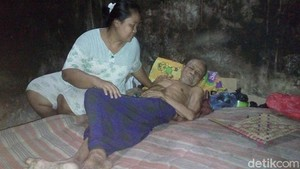Mbah Sukani, Kakek Lumpuh di Jepara Ini Butuh Bantuan