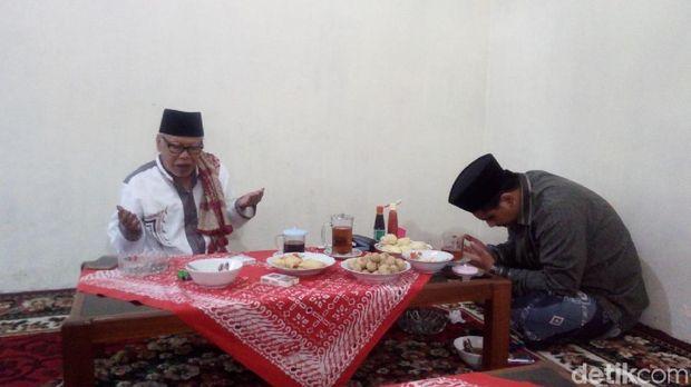 Taj Yasin sowan kiai di Semarang