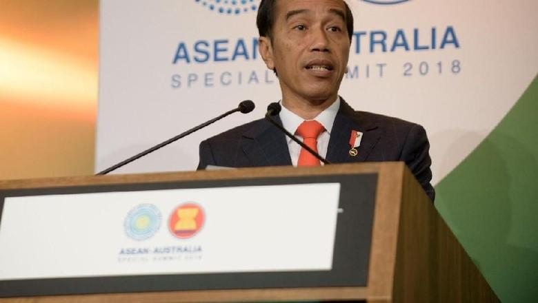 Presiden Jokowi di KTT Istimewa ASEAN-Australia (Dok. Media Pool ASEANinAus)