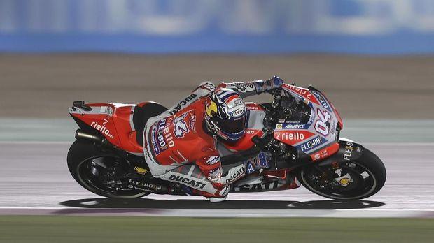 Andrea Dovizioso tetap difavoritkan menjadi pemenang MotoGP Qatar 2018.