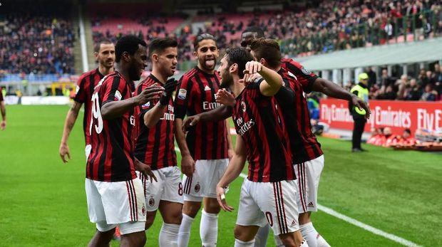 AC Milan finis di posisi enam Liga Italia musim lalu.