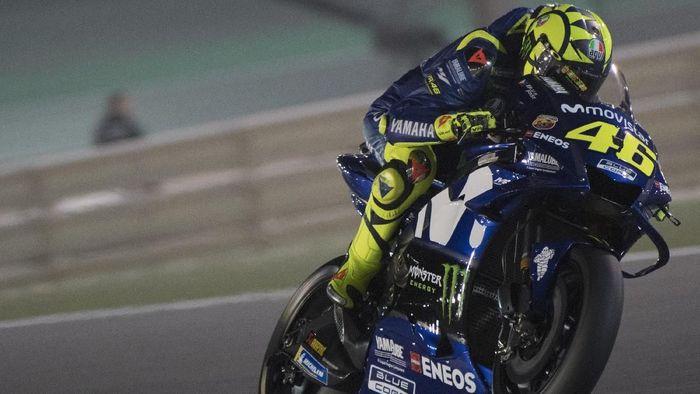 Valentino Rossi akan memulai balapan MotoGP Qatar dari posisi kedelapan. (Foto: Mirco Lazzari gp/Getty Images)