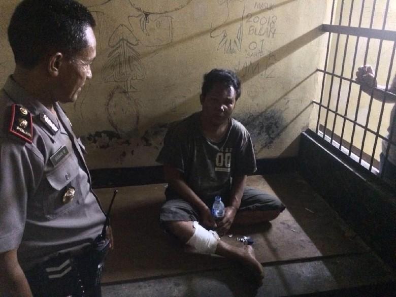 Polisi Tembak Kaki Pencuri Motor di Kawasan Sirkuit Sentul