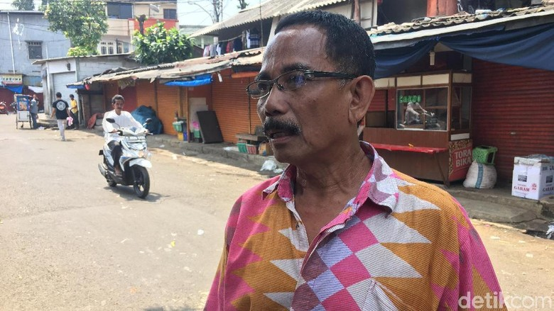 Ketua RW: Besi Proyek di Pasar Rumput Sudah 2 Kali Timpa Warga