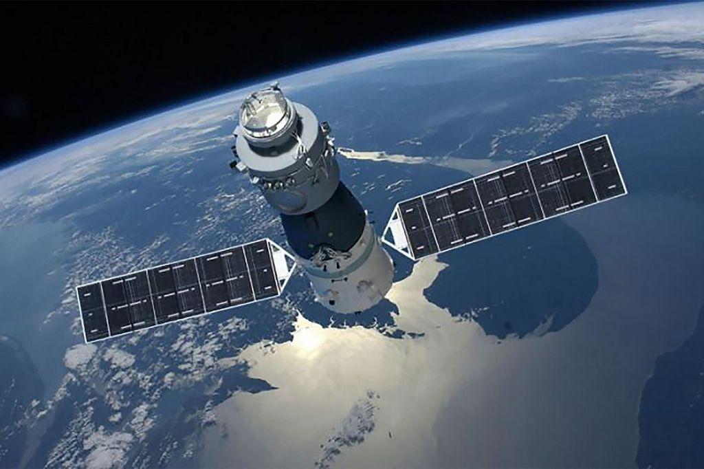 Stasiun ini mengorbit pada ketinggian 350 kilometer, kurang 50 kilometer dari jarak orbit Stasiun Luar Angkasa Internasional (ISS) Foto: China Manned Space Agency