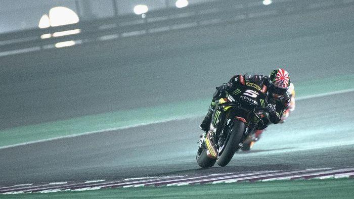 Johann Zarco meraih pole position di kualifikasi MotoGP Qatar 2018. (Foto: Mirco Lazzari gp/Getty Images)
