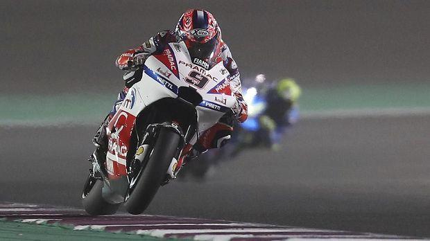 Danilo Petrucci meraih posisi ketiga di FP2 MotoGP Belanda. (
