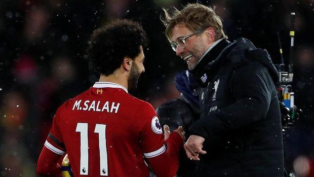 Mohamed Salah jadi pemain penting Liverpool musim ini.
