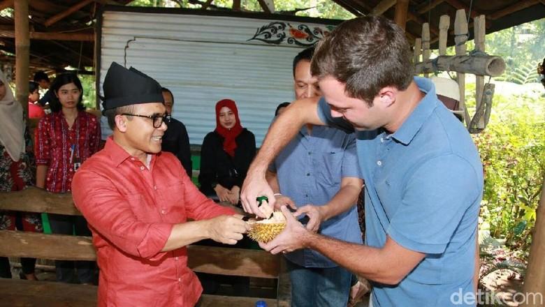 Foto: Bupati Banyuwangi, Abdullah Azwar Anas saat Festival Durian (Ardian/detikTravel)