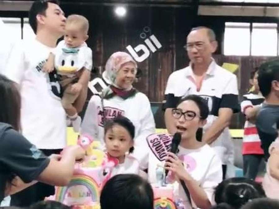 Meriahnya Perayaan Ulang Tahun Anak Ayu Dewi